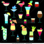 stock-vector-exotic-cocktails-collection-in-neon-colors-105927719